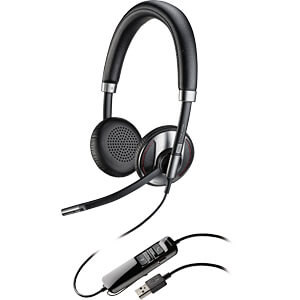 Headset, USB, Stereo, Blackwire C725 PLANTRONICS 202580-01
