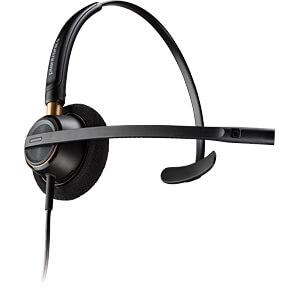 Headset, USB, Mono, Encore Pro HW510 PLANTRONICS 89433-02