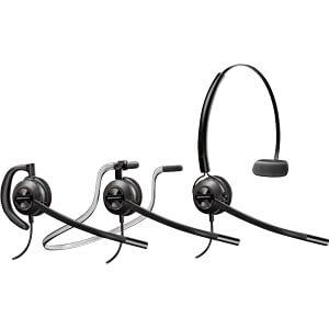 Headset, USB, Mono, Encore Pro HW540 PLANTRONICS 88828-02