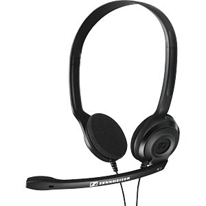 VoIP-Headset, Both sides, Headband SENNHEISER 504195