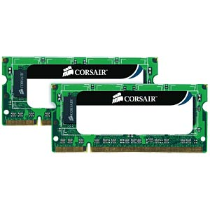 16 GB SO DDR3 1333 CL9 Corsair 2er Kit CORSAIR CMSO16GX3M2A1333C9