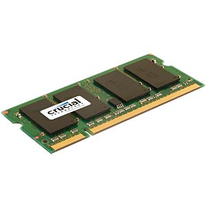 4096MB SO DDR2 800 Crucial CL6 Kit of 2 CRUCIAL CT2C2G2S800MCEU