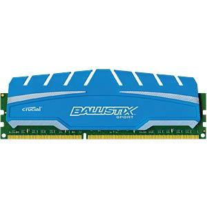 8 GB DDR3 1600 CL9 Ballistix Sport XT BALLISTIX BLS8G3D169DS3CEU