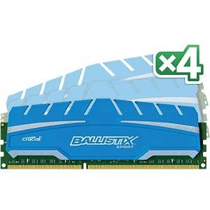 32 GB DDR3 1866 CL10 Ballistix Sport XT 4er Kit BALLISTIX BLS4C8G3D18ADS3BEU