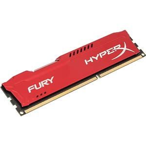 4 GB DDR3L 1333 CL9 Kingston Fury, red HYPERX HX313C9FR/4