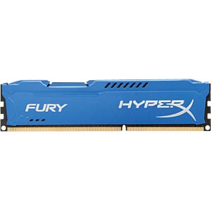 4 GB DDR3 1333 CL9 Kingston Fury blau HYPERX HX313C9F/4