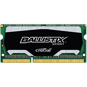 4 GB SO DDR3 1866 CL10 Ballistix BALLISTIX BLS4G3N18AES4CEU