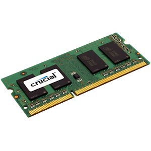 8 GB SO DDR3L 1600 CL11 Crucial CRUCIAL CT102464BF160B