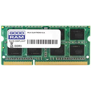 1 GB SO DDR3 1333 CL9 GOODRAM GOODRAM GR1333S364L9/1G