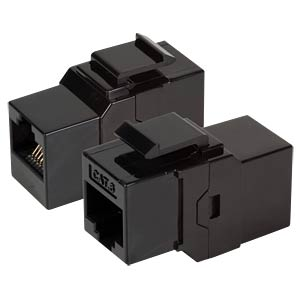 Cat.6 Snap-in Adapter, RJ45 jack/jack EFB-ELEKTRONIK 37488.1