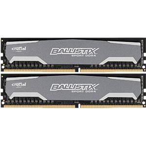 8 GB DDR4 2400 CL16 Crucial 2-piece set BALLISTIX BLS2C4G4D240FSA