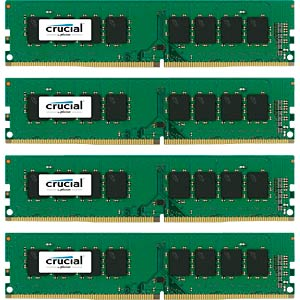 32 GB DDR4 2133 CL15 Crucial 4er Kit CRUCIAL CT4K8G4DFD8213