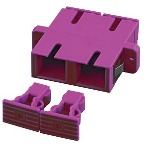 Kupplung SC/SC-Duplex Keramikhülse, Multimode EFB-ELEKTRONIK 53333.1