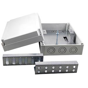 Splice box housing IP66, gray EFB-ELEKTRONIK 53710.1