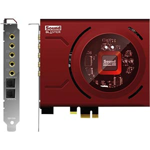 Soundkarte, intern, Sound Blaster Z retail, EAX 5.0 HD, PCIe, ro CREATIVE 70SB150000001