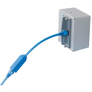 RJ45 adapter for protection against tension FREI