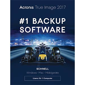 Acronis True Image 2017 - 1 Computer (UK) ACRONIS TIHXB2UKS