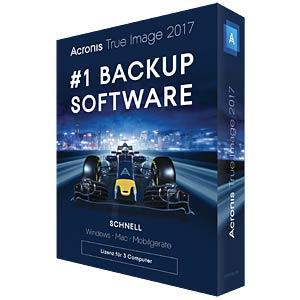 Acronis True Image 2017 - 3 Computer (UK) ACRONIS TI3XB2UKS