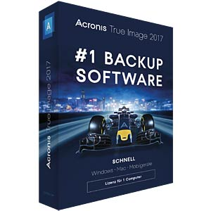 Backup/restore PCs/notebooks ACRONIS TIHXB2DES