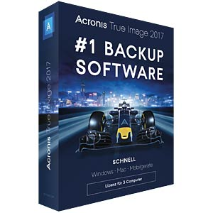 Backup/restore PCs/notebooks ACRONIS TI3XB2DES