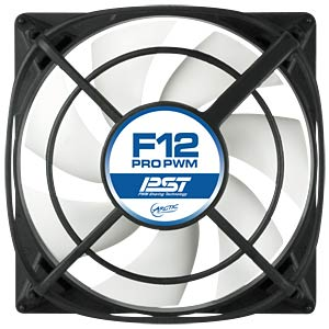 Arctic housing fan F12 PRO PWM PST, 120 mm ARCTIC AFACO-12PP0-GBA01