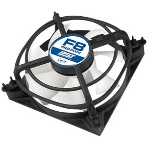 Arctic housing fan F8 PRO PWM PST, 80mm ARCTIC AFACO-08PP0-GBA01