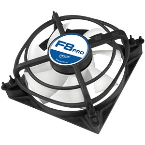 Arctic housing fan F8 PRO, 80mm ARCTIC AFACO-08P00-GBA01