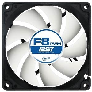 Arctic housing fan F8 PWM PST, 80 mm ARCTIC AFACO-080P0-GBA01