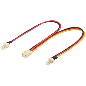 Molex Y-cable 0.22 m, male and female connectors FREI
