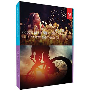Software, Premiere & Photoshop Elements v15 ADOBE 65273580