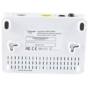 ADSL2+ Ethernet Modem (Annex B und J) ALLNET ALL0333CJ