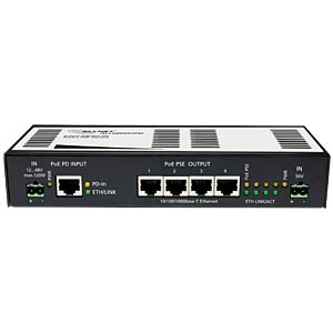 Power over Ethernet (POE) 4-Port Switch ALLNET ALL048605PD