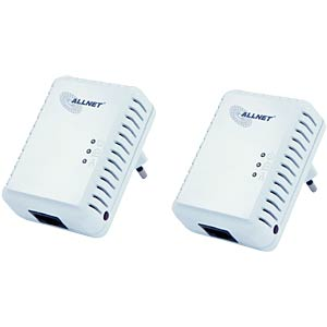 500 MBit/s Powerline Kit- mini format (2 pcs.) ALLNET ALL168250