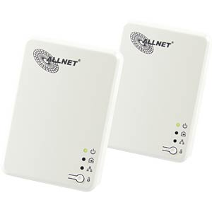 600MBit/s Powerline Kit - SmartLink (2 Stk.) ALLNET ALL168610DOUBLE