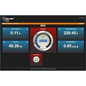 Netzwerksteckdose, Schalten/Messen über IP ALLNET 104248