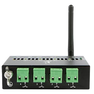 LAN/WLAN Netzwerk Relais 4-fach 220V/10A ALLNET ALL4175