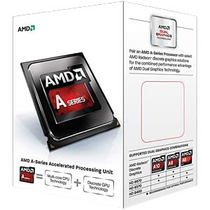 AMD FM2 A4-6320, 2x 3.80 GHz, boxed AMD AD6320OKHLBOX