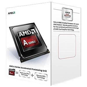 AMD FM2 A4-7300, 2x 3.80GHz, boxed AMD AD7300OKHLBOX