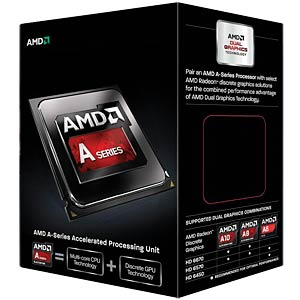 AMD FM2 A6-6420K Black Edition, 2x 4.00GHz, boxed AMD AD642KOKHLBOX