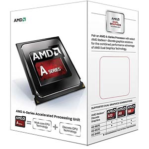 AMD FM2+ A10-7800, 4x 3.40GHz, boxed AMD AD7800YBJABOX