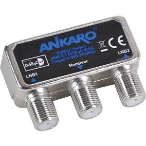 ANK 2/1 WSG - DiSEqC Schalter