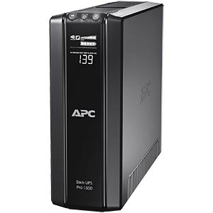 Power-Saving Back-UPS Pro, 1500VA LCD, 230V APC BR1500GI
