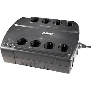 APC Back-UPS 330W-550 VA 230 V - 8 outputs If service is require APC BE550G-GR