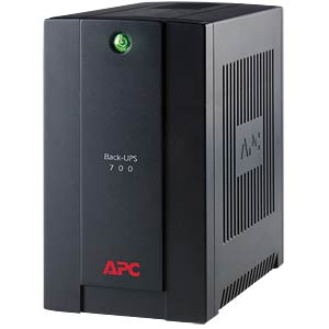 Back-UPS 390W-700VA 230V- 4 Ausgänge APC BX700U-GR