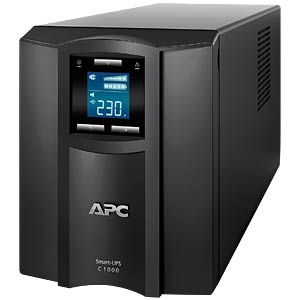 SmartUPS C 1000I LCD-USV-600 W-1000VA APC SMC1000I