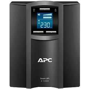 APC SmartUPS C 1000I LCD-USV-600 W-1000VA APC SMC1000I