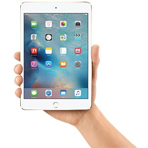 Apple iPad mini 4, 128 GB, Wi-Fi, Gold APPLE MK9Q2FD/A