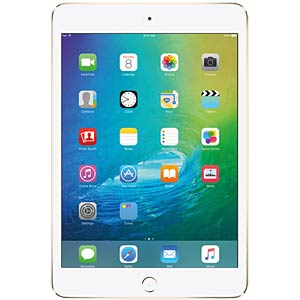 Apple iPad mini 4, 16 GB, Wi-Fi+Cellular, Gold APPLE MK712FD/A