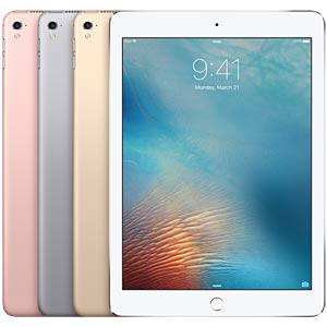 Apple iPad Pro 9,7, 128 GB, Wi-Fi+Cellular, Silber APPLE MLQ42FD/A