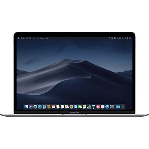 13 MacBook Air, 1,6 GHz, Space Grau, 8 GB, 128 GB SSD APPLE MRE82D/A